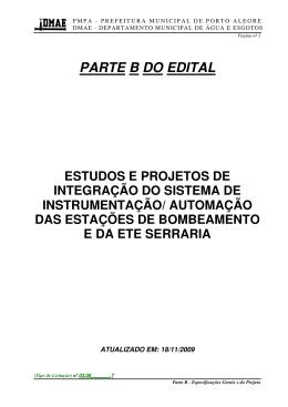 PARTE B DO EDITAL
