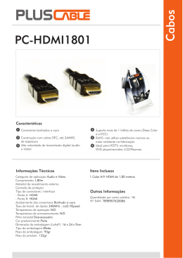 PC-HDMI1801 - Plus Cable