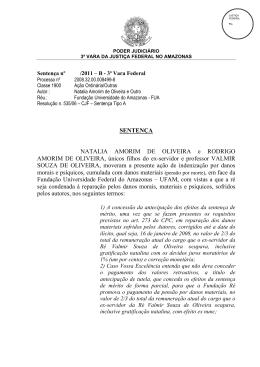 Justiça Federal condena Ufam a indenizar filhos de porfessor morto