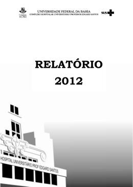 Relatório Anual/2011