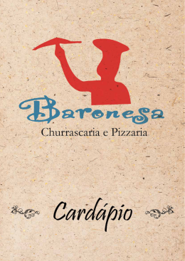 R$ 46,00 - Pizzaria Baronesa