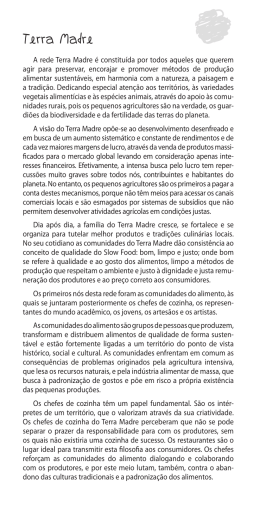 Kit de imprensa - Terra Madre Brasil 2010