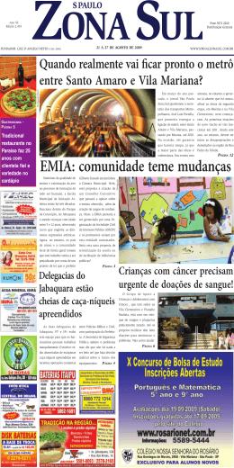 PDF - Jornal São Paulo Zona Sul