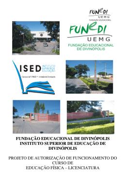 FUNDAÇÃO EDUCACIONAL DE DIVINÓPOLIS INSTITUTO
