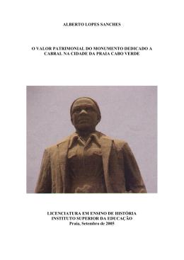 ALBERTO LOPES SANCHES - Portal do Conhecimento