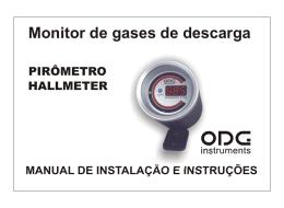 Pirômetro c/ Hallmeter 60mm