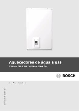 GWH500 - Jato D`água - Aquecedores de Água, Elétricos e a Gás