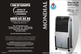 Manual CLIMATIZADOR PREMIUM CL-01 08-12 Rev02