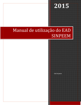 Manual Online - SINPEEM