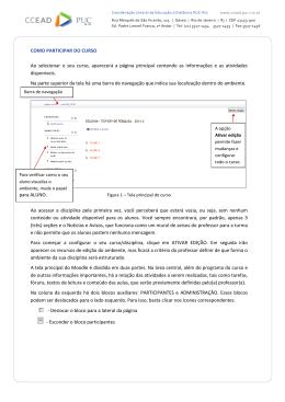 Clique aqui para abrir este tutorial. - CCEAD PUC-Rio