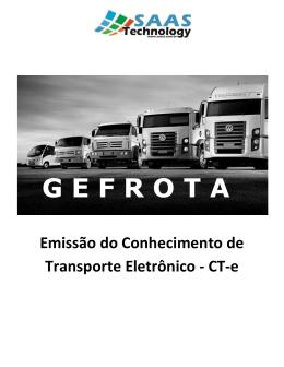 Emissão do Conhecimento de Transporte Eletrônico