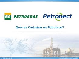 Quer se cadastrar na Petrobras