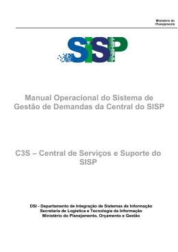 Manual de Gestão de Demandas - C3S
