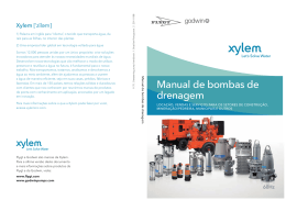 Manual de bombas de drenagem