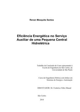 Renan Mesquita Santos Eficiência Energética no Serviço Auxiliar de
