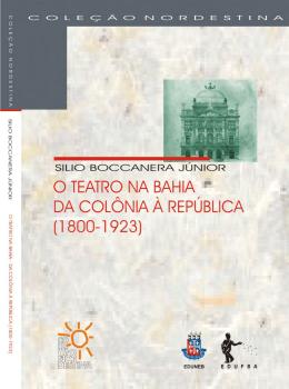 O teatro na Bahia - RI UFBA