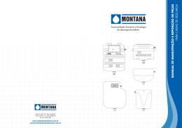 manual de manutenção e reposição de peças para caixas