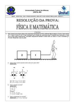 Física e Matemática - Unifal-MG