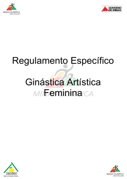 Ginástica Artística Feminina