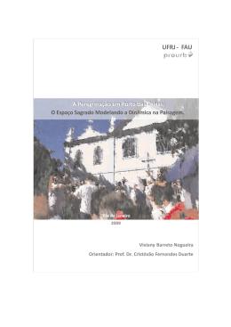 A peregrinação em Porto das Caixas: O espaço sagrado modelando
