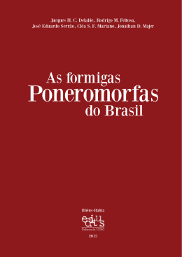 As formigas do Brasil