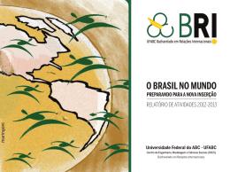 O Brasil nO MundO