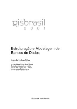 Estruturação e Modelagem de Bancos de Dados