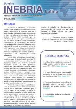 EDITORIAL SUGESTÃO DE LEITURA