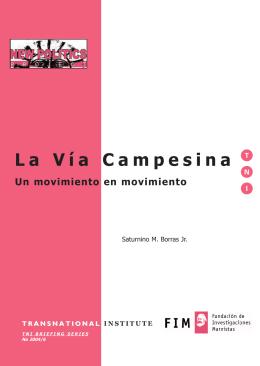 La V.a Campesina - esp.qxp
