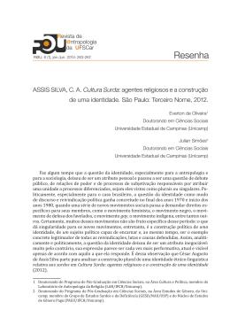 aque - Revista de Antropologia da UFSCar