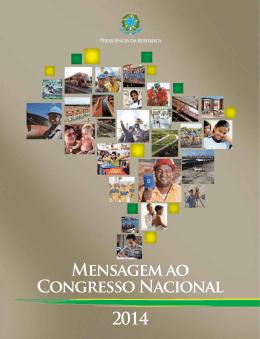 MENSAGEM AO CONGRESSO NAciONAl 2014
