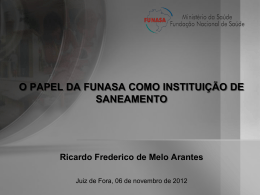 PAC 2/FUNASA - planejarjf.com.br