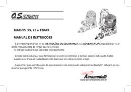 MANUAL DE INSTRUÇÕES MAX-35, 55, 75 e 120AX