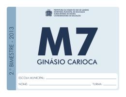 7º Ano - Prefeitura do Rio de Janeiro