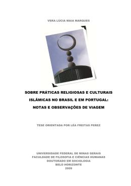 sobre práticas religiosas e culturais islâmicas no brasil e em portugal