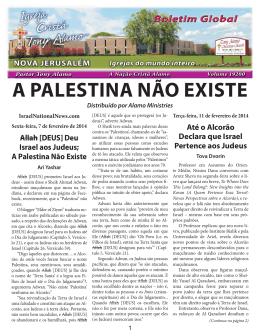 """""""A Palestina Não Existe"""" e - Tony Alamo Christian Ministries"""