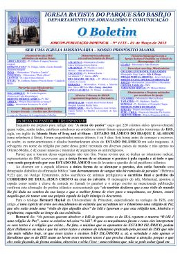 Domingo 01/03/2015 - Nº 1133