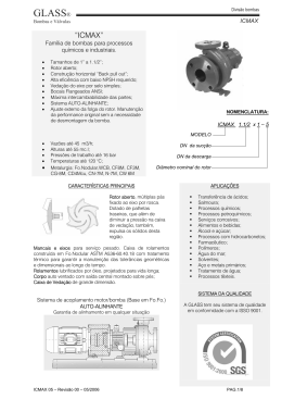 GLASS® - Glass - Bombas e Válvulas