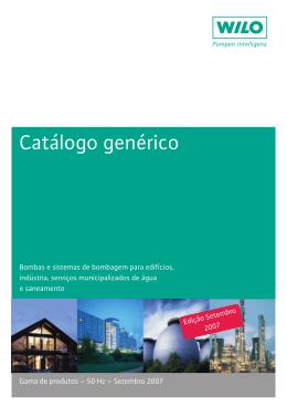 Catálogo genérico
