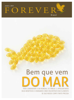 Bem que vem - Forever Living Brasil