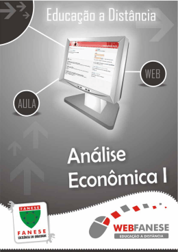 analise economica I - Fórum