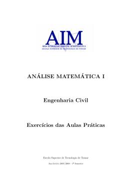 Caderno de exercícios das aulas práticas