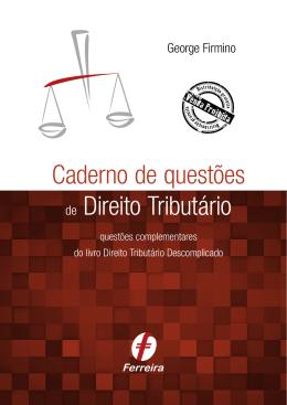 Caderno de questões de Direito Tributário