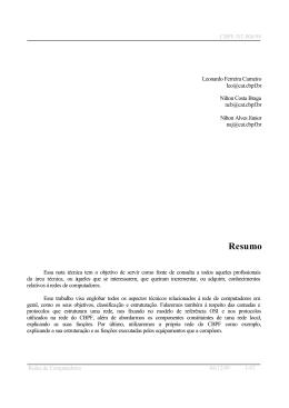 Resumo - Rede Rio