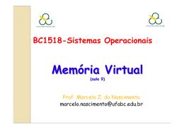 ufabc_SO_Aula09_Gerenciamento da memoria virtual