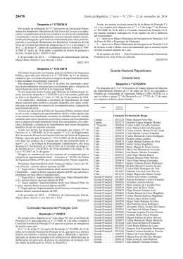 Resolução n.º 33/2014