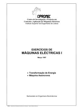 exercícios de máquinas eléctricas i