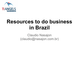 Resources to do business in Brazil