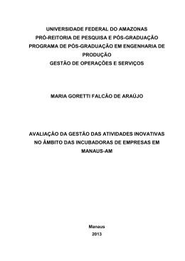 Maria Goretti Falcao de Araujo - TEDE