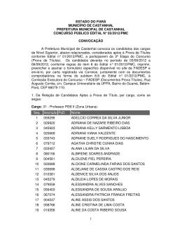 1 estado do pará município de castanhal prefeitura municipal